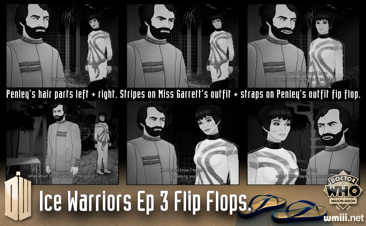 Ice Warrior Ep 3 Flip Flops