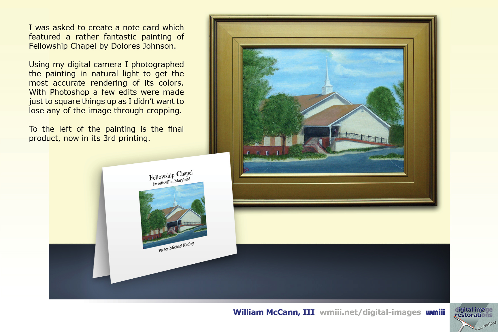 Fellowship Chapel Note Card