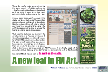A new leaf in FM art.