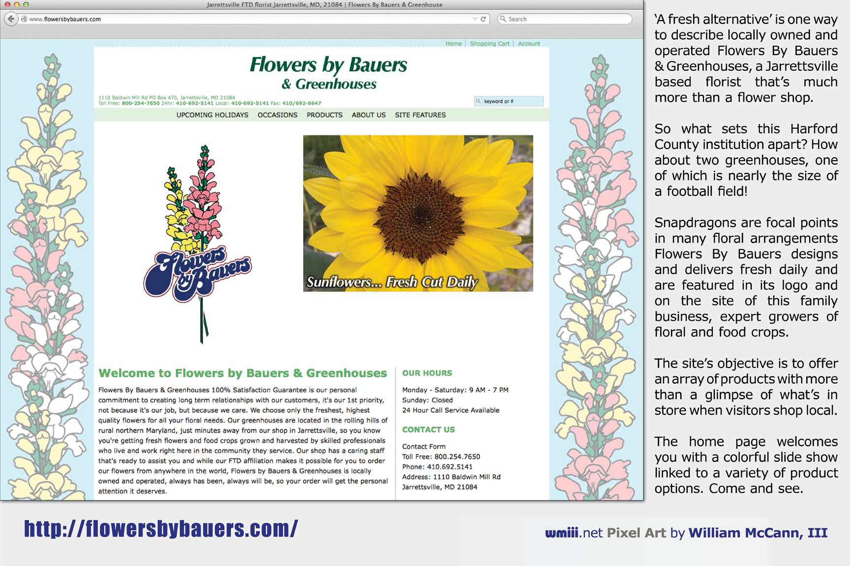 Flowers by Bauers & Greenhouses