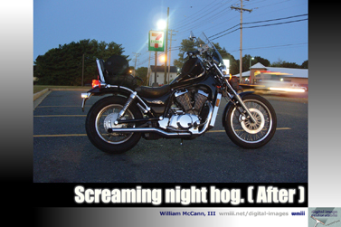 Screaming night hog (After)