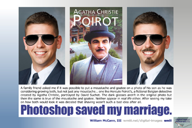 Photoshop saved my marriage.