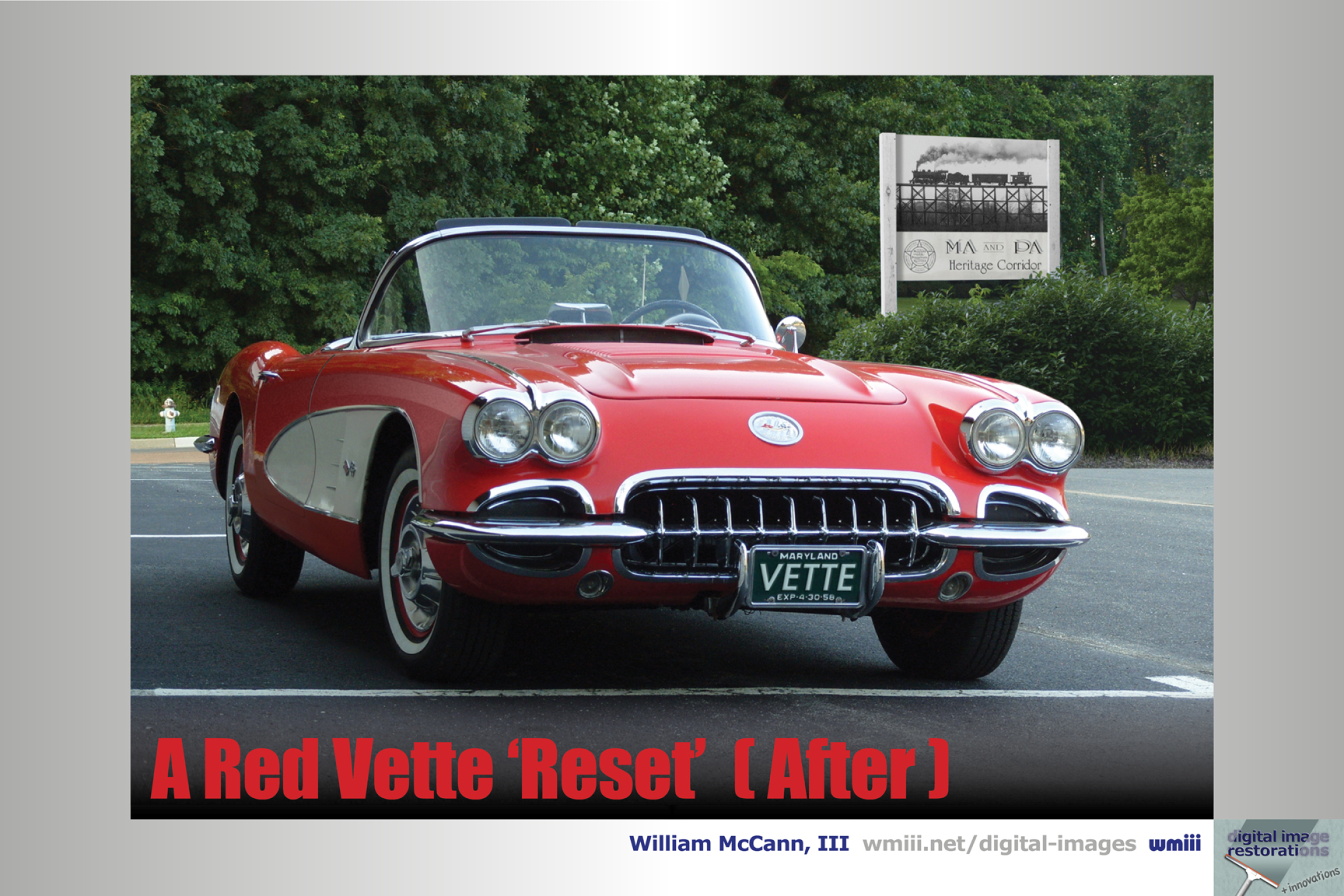 A Red Vette 'Reset' (After)