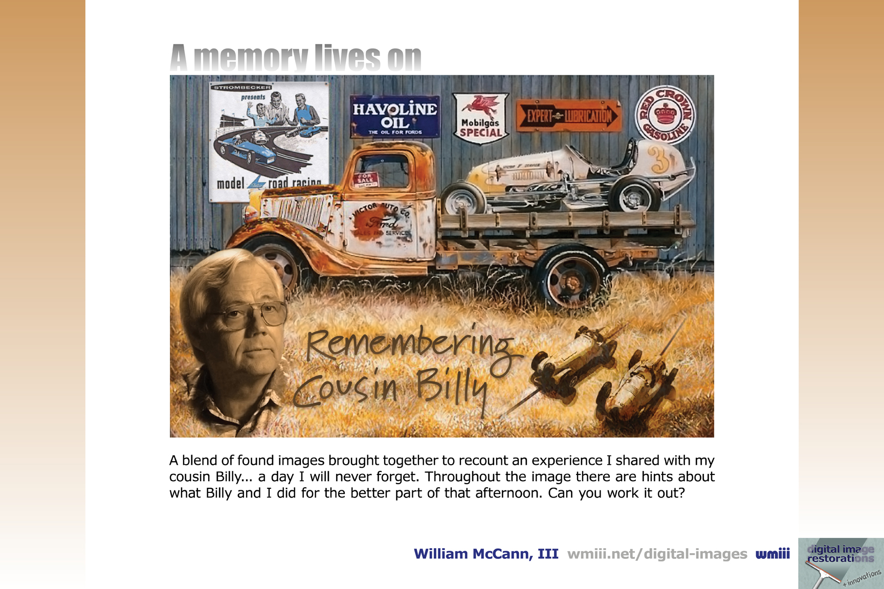 Remembering Cousin Billy